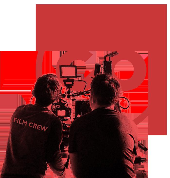 Compenyon Logo mit Filmcrew